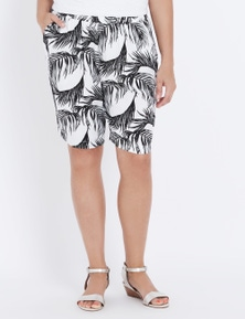 Millers Over The Knee Printed Short