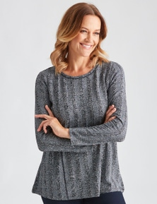 Millers Long Sleeve Textured Tunic