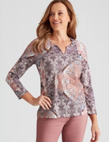 Millers Long Sleeve Sublimation Top With Heatseal