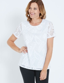 SS LACE SCOOP