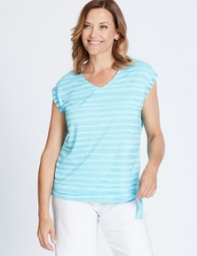MILLERS EXTENDED SLEEVE BURNOUT WITH TIE SIDE