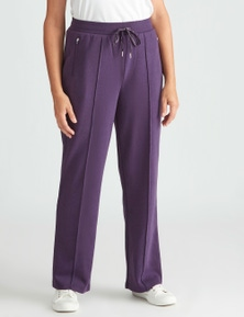 FL PANT WITH PINTUCK