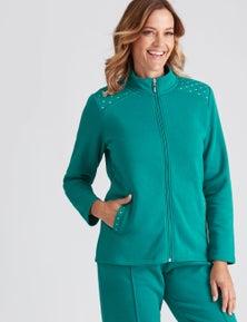 Millers Long Sleeve Embellished Zip Through