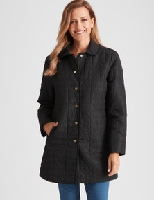 Millers Long Quilted Jacket