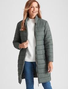 Millers Longline Puffa Jacket