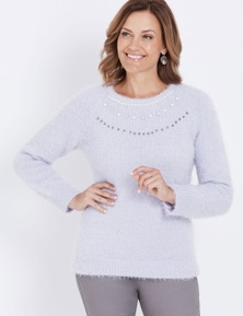 EMB FEATHER JUMPER