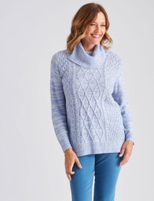 Millers Cable Cowl Jumper