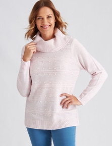 CABLE COWL JUMPER