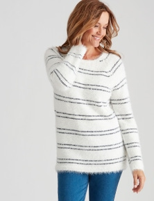 Millers Stripe Feather Knit