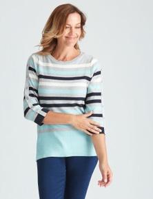 Millers Stripe Cotton Jumper