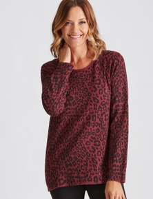Millers Leopard Print Jumper