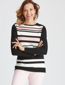 SMART STRIPE JUMPER