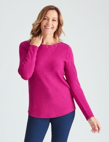 LS LAT NECK JUMPER