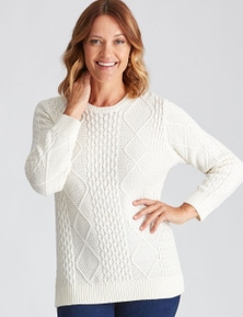 Millers Cotton Cable Jumper
