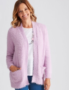 FEATHER CARDI