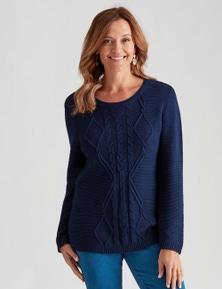 Millers Cable Front Jumper