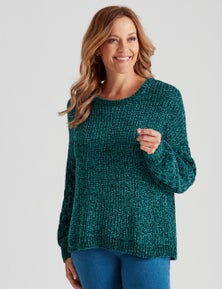 Millers Cable Sleeve Chenille Jumper1