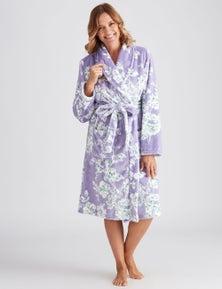 Millers Floral Printed Robe