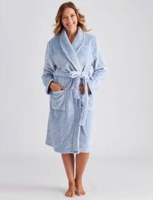 Millers Textured Stripe Robe