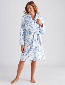 Millers Floral Print Robe