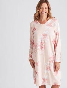 Millers Long Sleeve Floral Printed Nightie