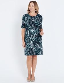 Millers Elbow Sleeve Midi Dress