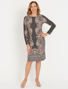 Millers Printed Ity Dress