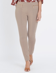 Millers Full Length Slim Zip Ponte Pant