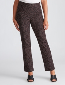 Millers Full Length Slim Leg Jacquard Pant