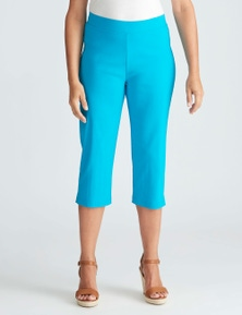 Millers Crop Bengaline Pant With Side Split