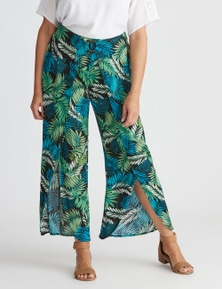 Millers wrap front printed pant