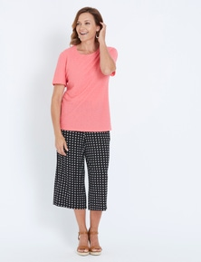 Millers jersey culotte pant