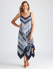 Millers Sleeveless Chevron Tile Dress