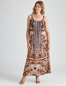Millers Sleeveless WOW Animal Maxi Dress