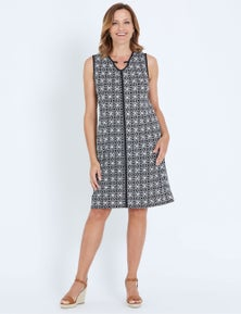 Millers sleeveless ring detail ITY Dress