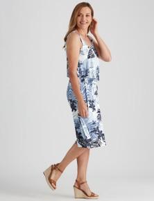 Millers Volume Layered Midi Dress