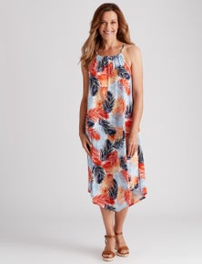 Millers S/less ITY dress with bead trim
