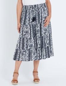 Millers Mono Gypsy Midi Skirt