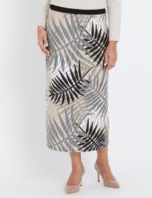 Millers Fern Print Skirt