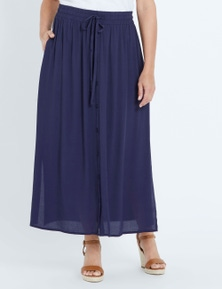 Millers Button Through A Line Skirt