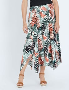 Millers Midi Hanky Hem Skirt