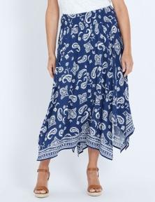 Millers Hanky Hem Border Skirt