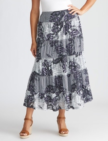 Millers Tiered Mesh Maxi Skirt