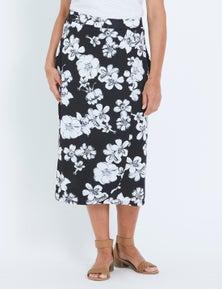 Millers Wrap Look Midi Skirt