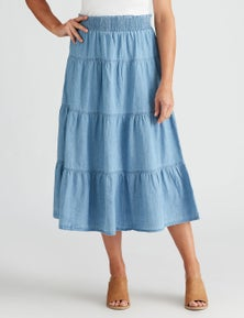 Millers Tiered Maxi Skirt