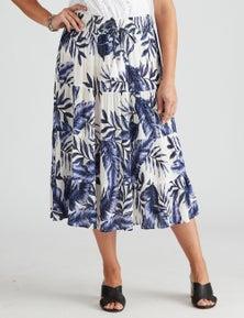 Millers Crinkle Tiered Midi Skirt