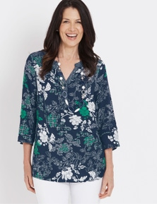 Millers 1/2 Placket Blouse