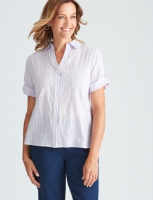 Millers Classic Striped Elbow Sleeve Shirt