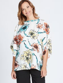 Millers Extended Sleeve Placement Kaftan
