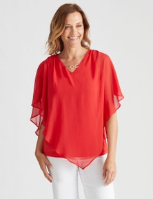 Millers Extended Sleeve Yoryu Overlay Top